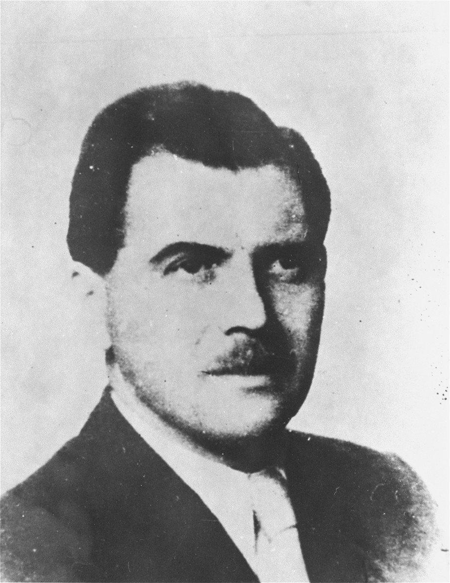 Retrato de Josef Mengele