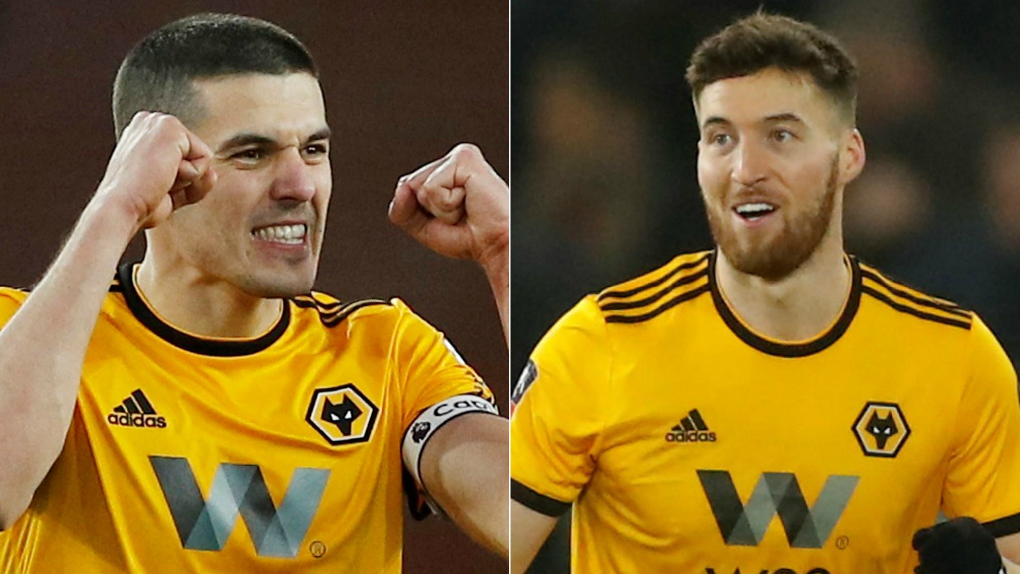 Wolves: Conor Coady and Matt Doherty sign new deals until 2023