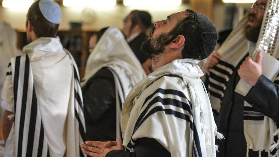 احتفالات دينية يهودية. صورة أرشيفية