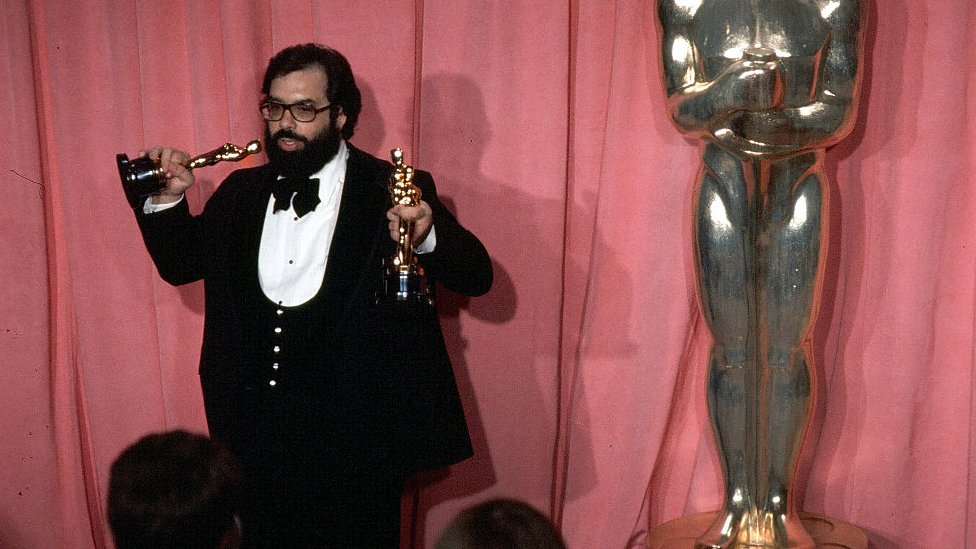 Coppola at the 1975 Oscars