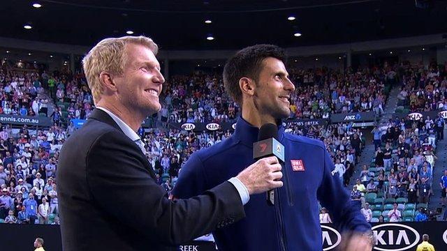 Djokovic heckled over drop shots