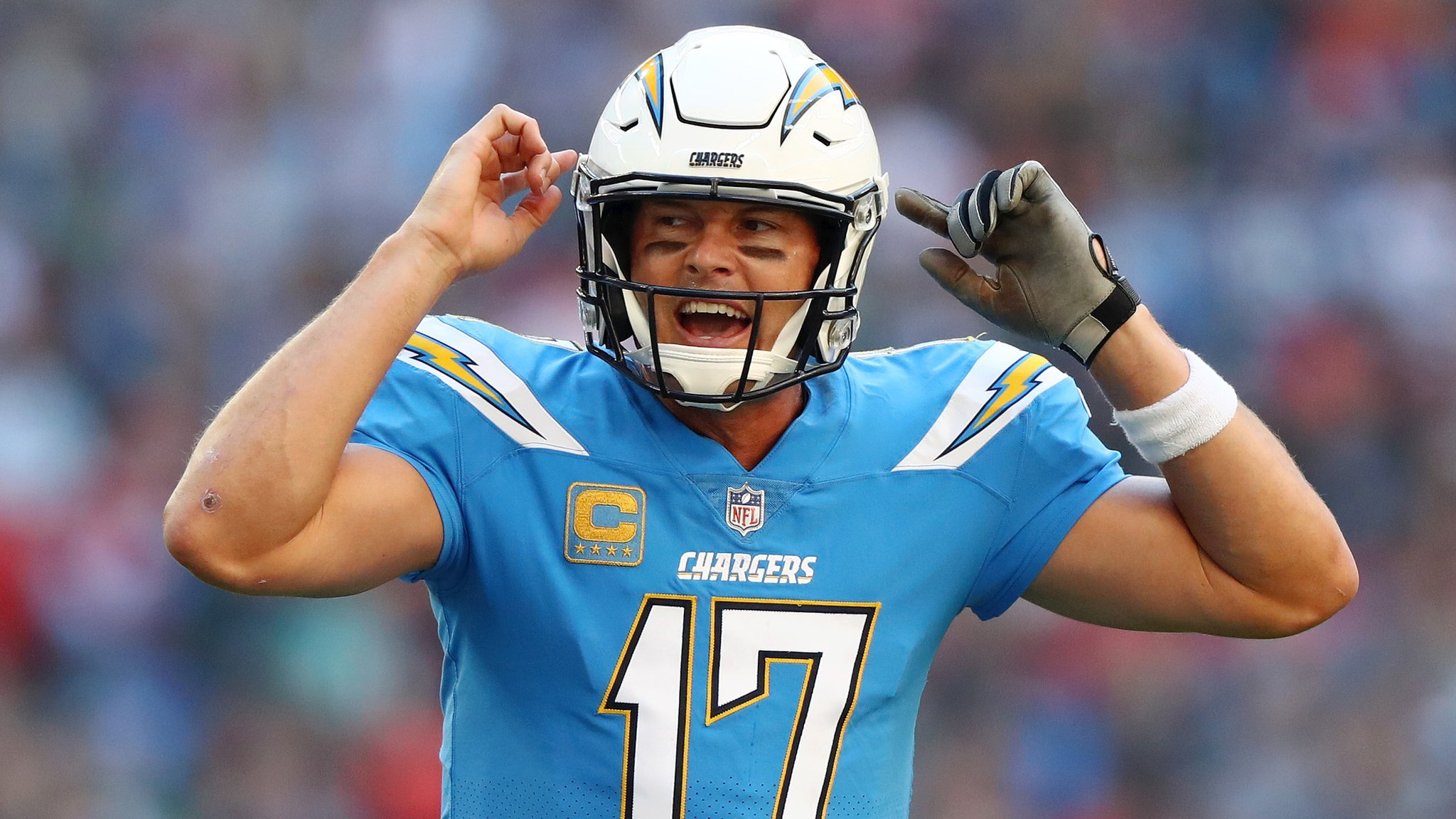 NFL: Los Angeles Chargers hold on to beat Tennessee Titans in Wembley thriller