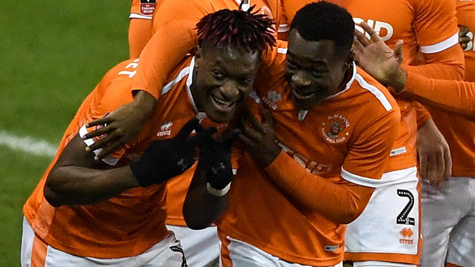 Blackpool 3-2 Solihull Motors: Hosts to play Arsenal in FA Cup third-round tie