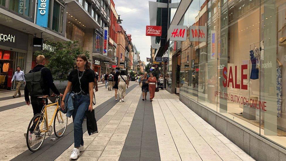 Shops in Stockholm