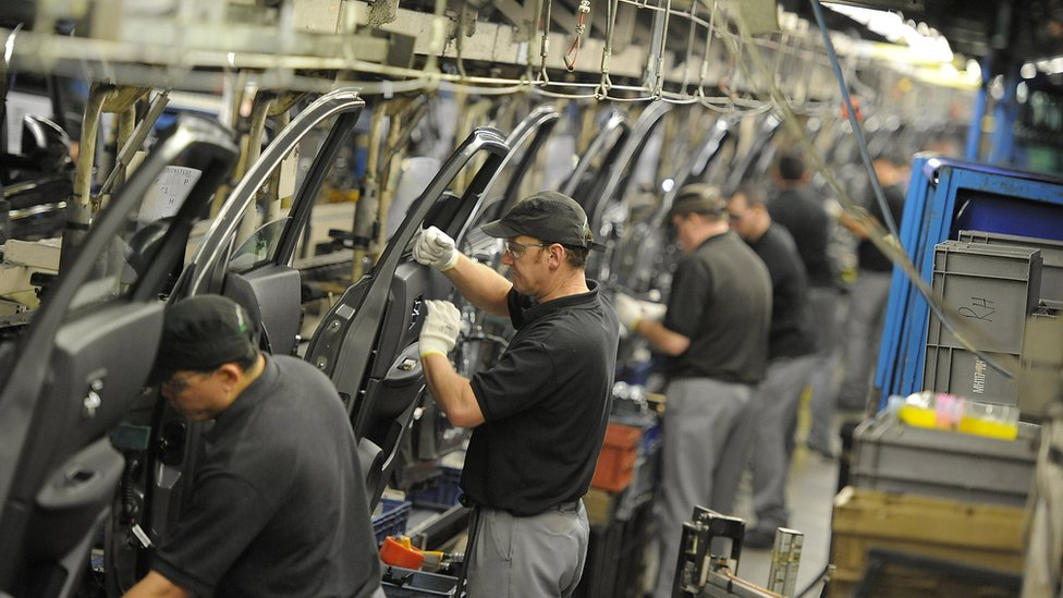 Workers at Nissan's Sunderland factory