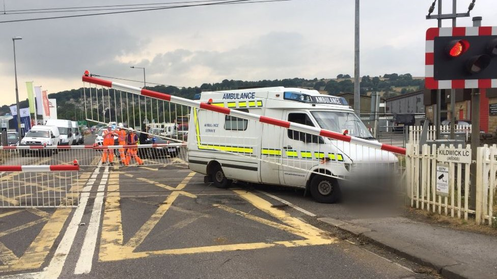 Ex-ambulance crash driver charged with dangerous driving