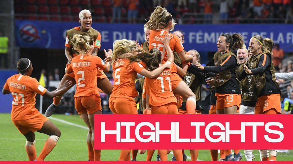 Women's World Cup 2019: Lieke Martens' penalty sends Netherlands through 2-1