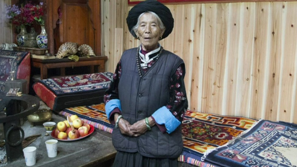 Mosuo woman