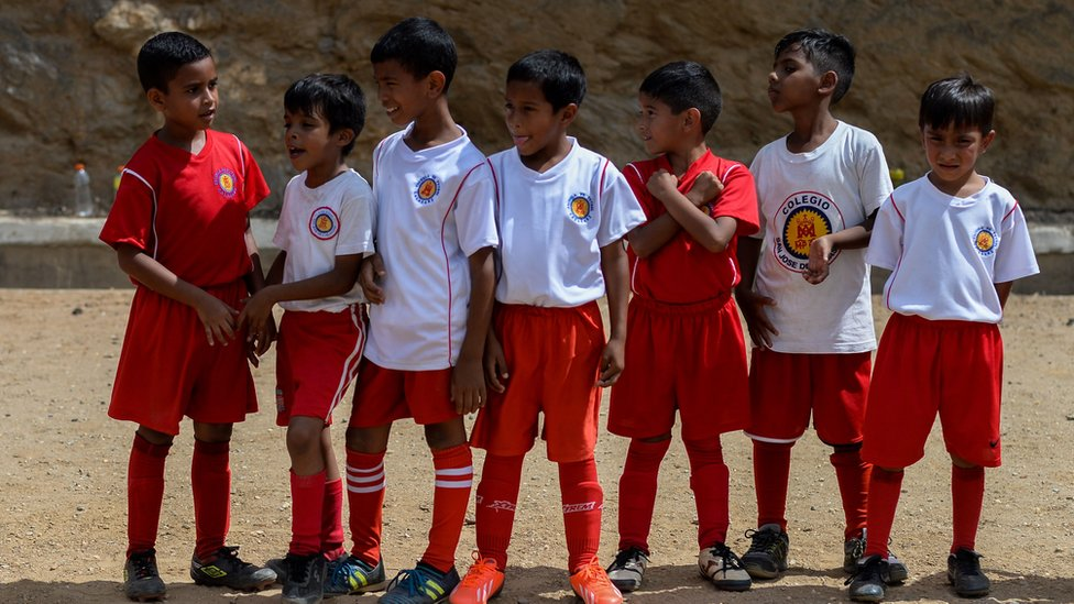 Menores venezolanos