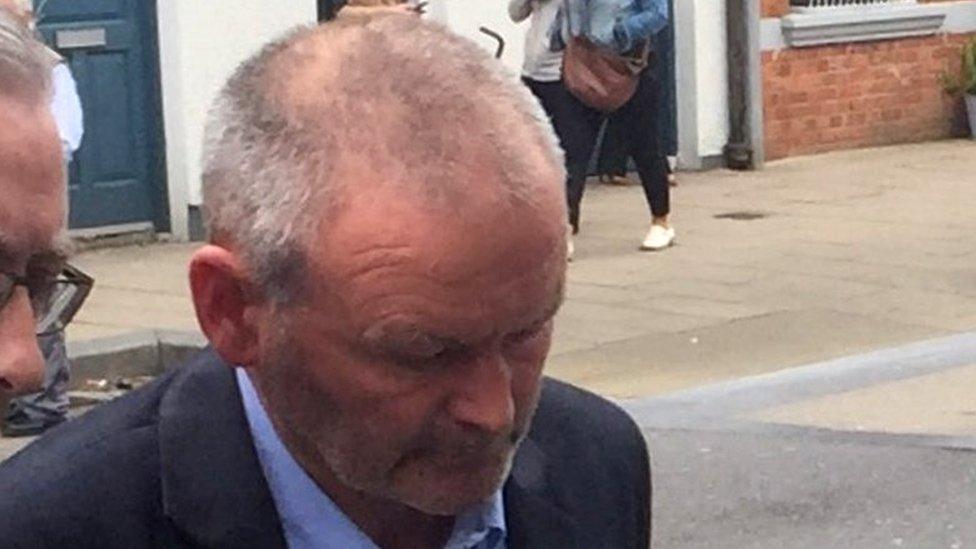Farmer Michael Ferris guilty of neighbour's manslaughter