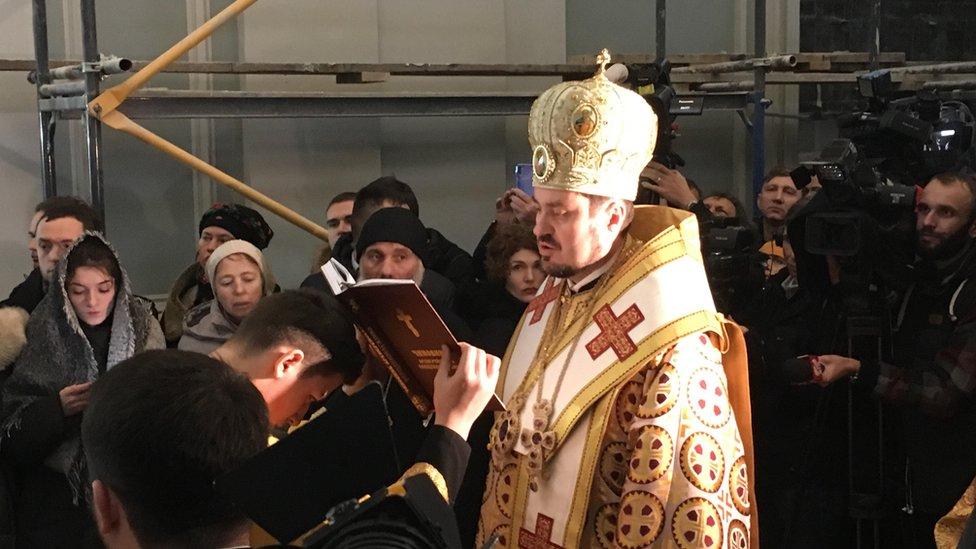 Вселенський патріархат у Києві: перша служба в Андріївській церкві