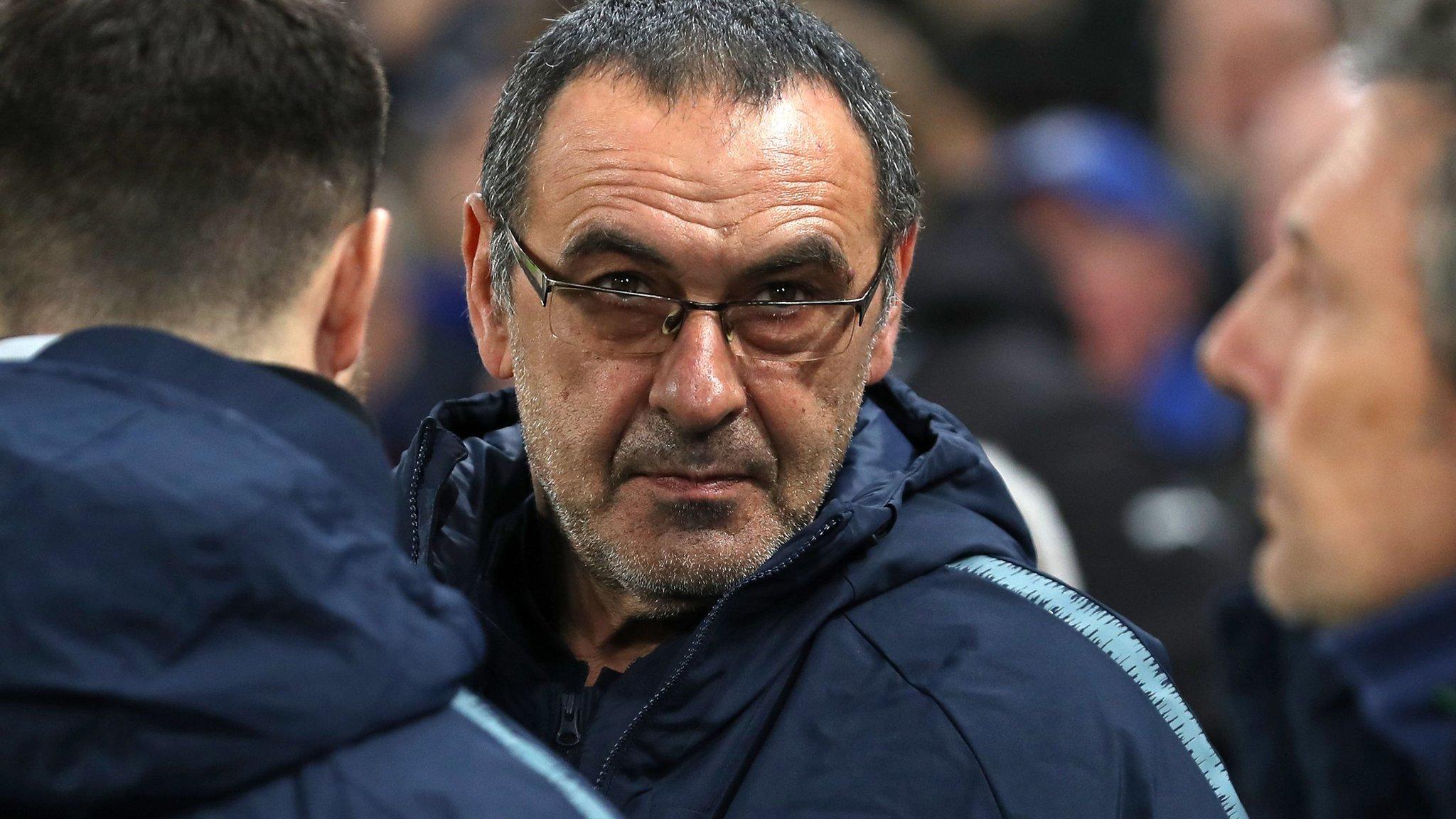 Maurizio Sarri: Chelsea manager dismisses Roma link