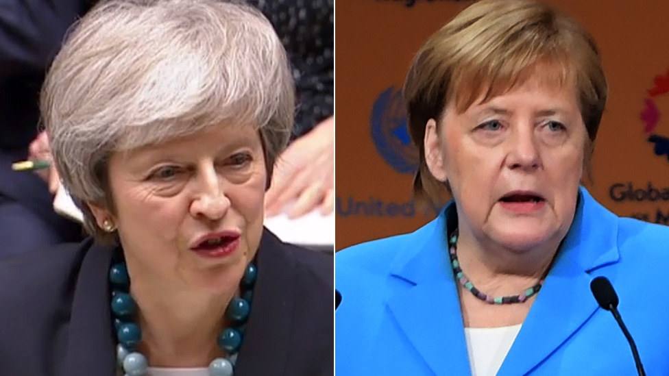 Brexit: Theresa May to meet EU leaders in bid to rescue deal