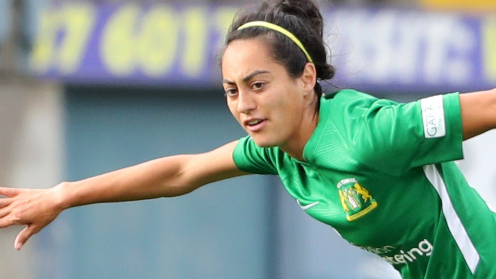 Monique Fischer: Yeovil Town Ladies midfielder breaks collarbone