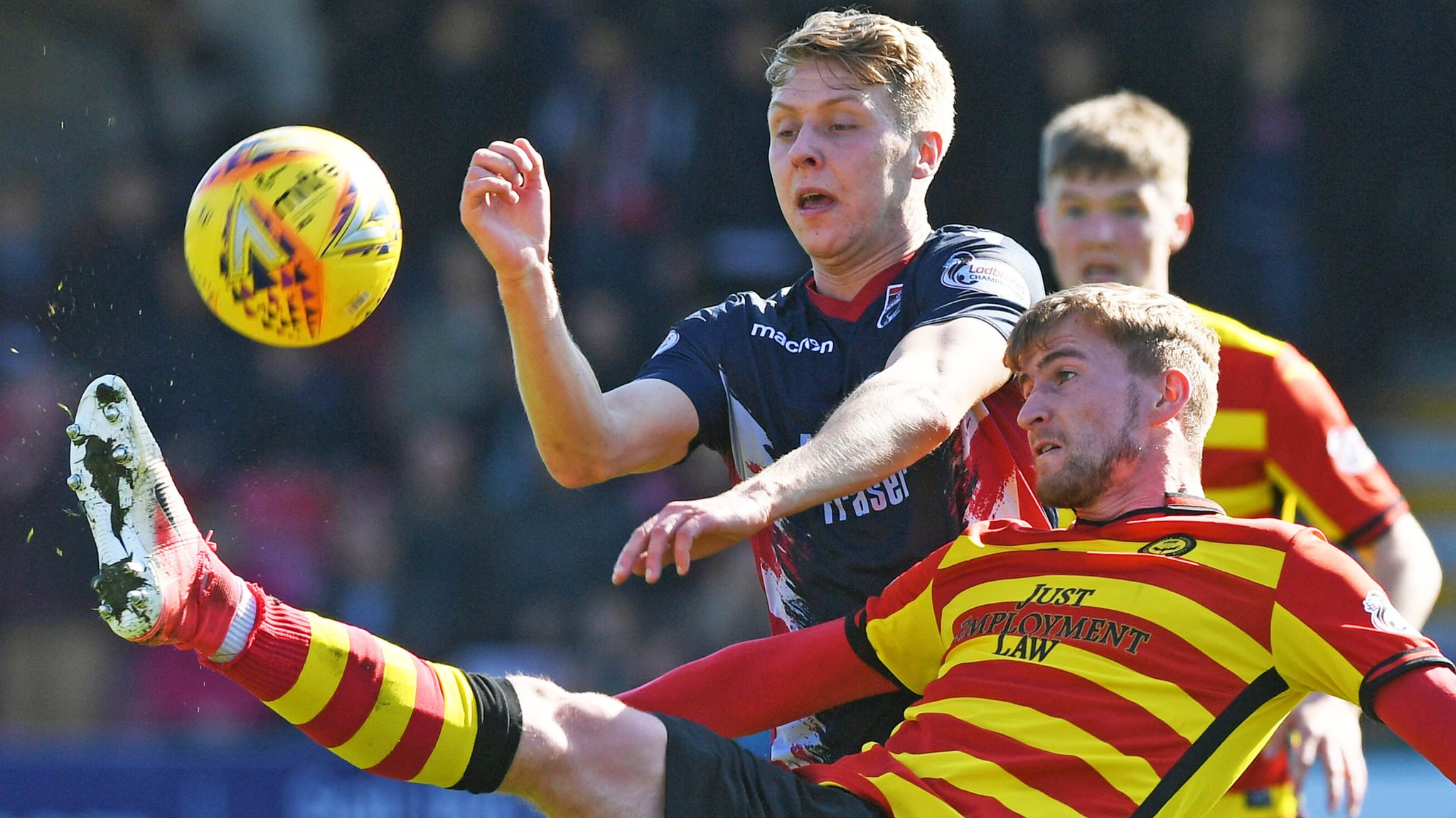 Ross County 0-0 Partick Thistle: Dingwall side wait on title