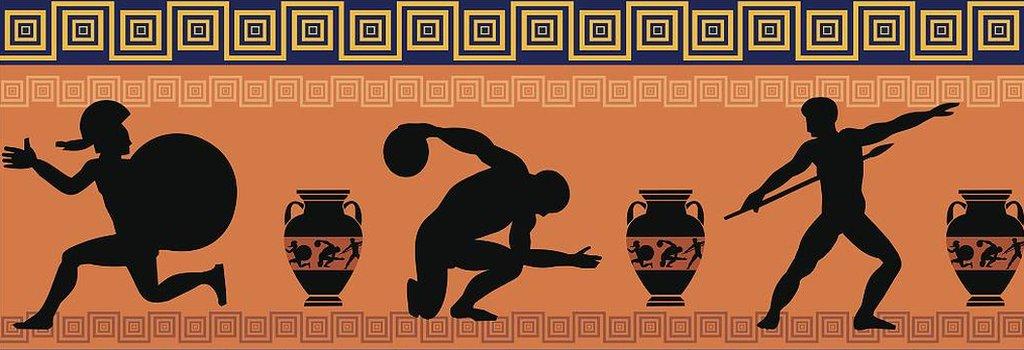 Ilustracion olimpiadas antiguas