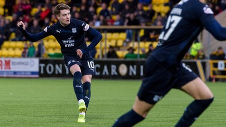 The weekend's top five Scottish Premiership goals