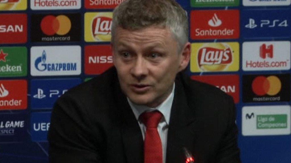 Barcelona 3-0 Man Utd: Ole Gunnar Solskjaer salutes Lionel Messi