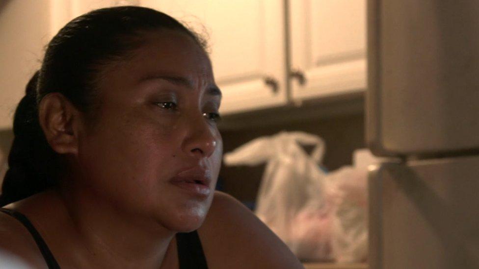 Rosa hablaba con su nieto semanalmente mientras estuvo detenido.
