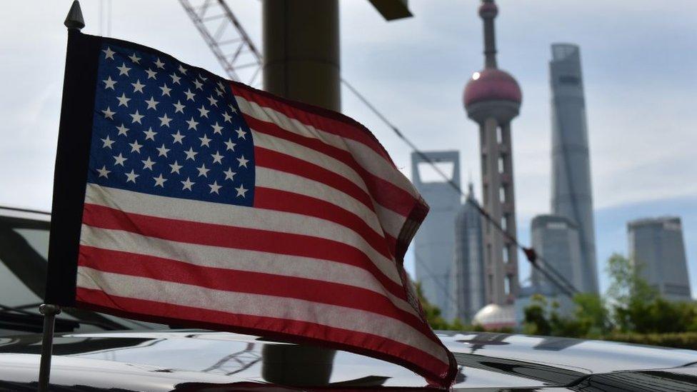 Bendera AS di China