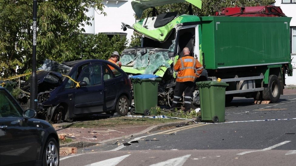 kidbrooke crash