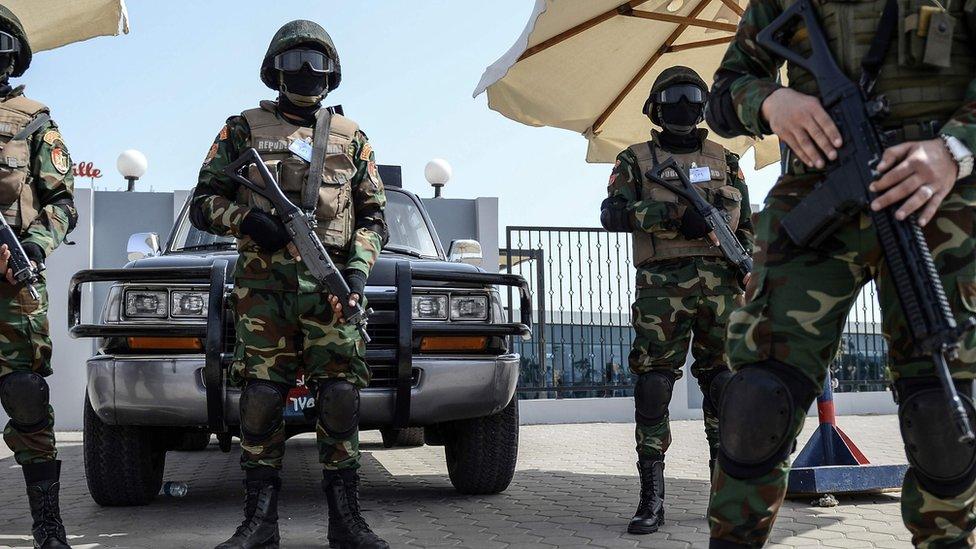 قوات مصرية خاصة لتأمين القمة