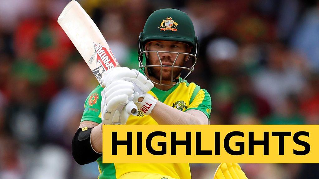 Cricket World Cup: David Warner hits 166 as Australia beat Bangladesh