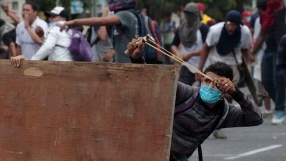 تظاهرات نيكاراغوا