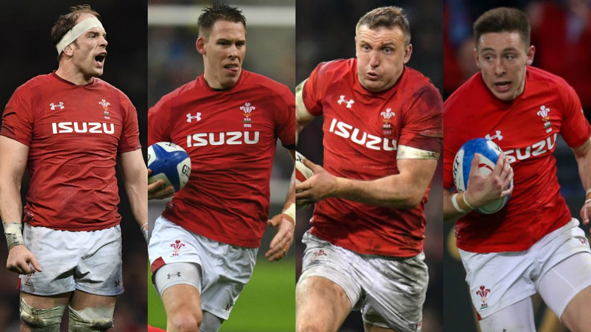 Wales lead Six Nations Player of Championship shortlist