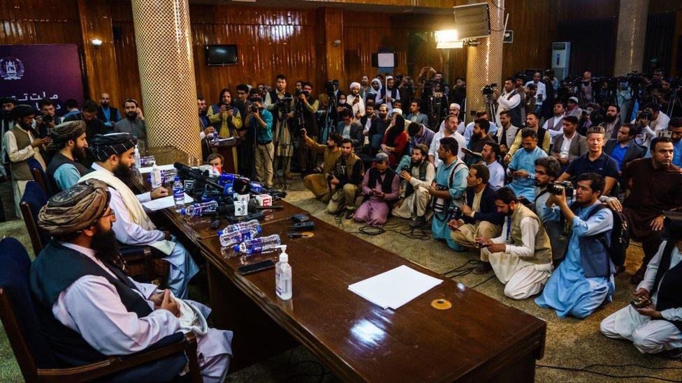Conferencia de prensa Talibán