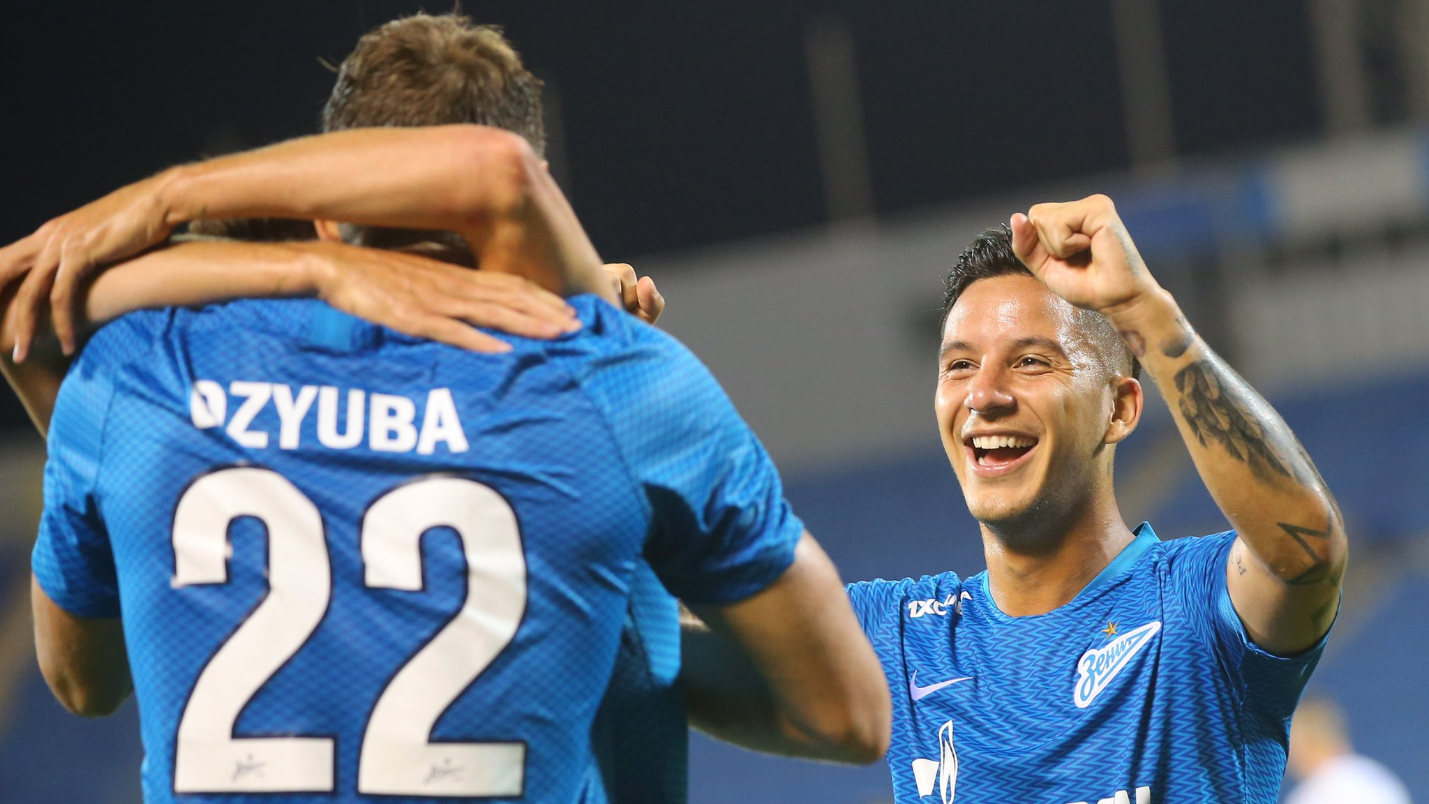 Europa League's most remarkable comeback? Ten-man Zenit go from 0-4 to 8-5