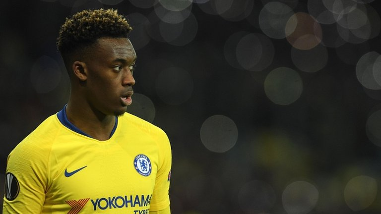 Chelsea complain about racial abuse of Callum Hudson-Odoi at Dynamo Kiev