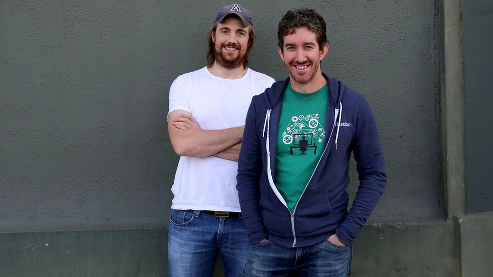 Mike Cannon-Brookes y Scott Farquhar