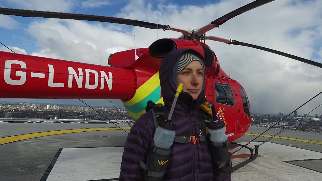 Patient and medics tackle Sahara race for Air Ambulance