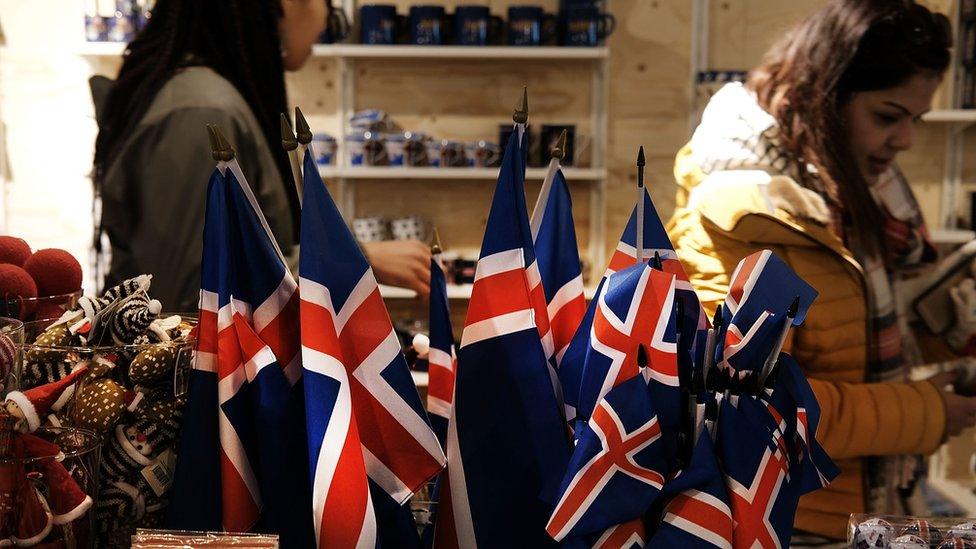 Souvenir shop in Iceland