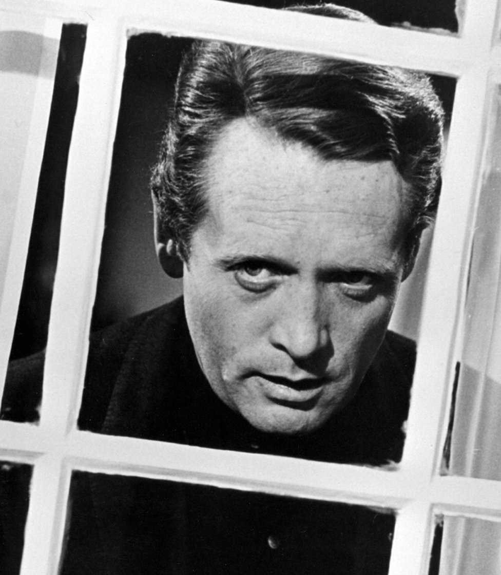 Patrick McGoohan gazes out at The Village