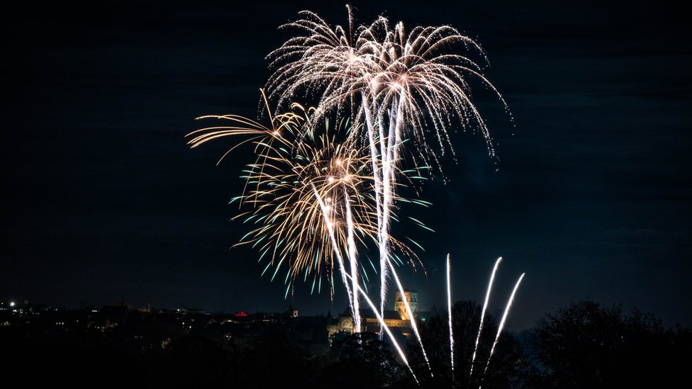 St Albans Cathedral's fireworks display