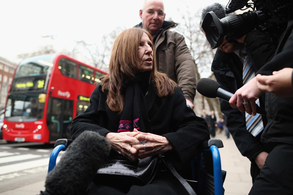 Anne Williams at the Hillsborough Inquest 2012