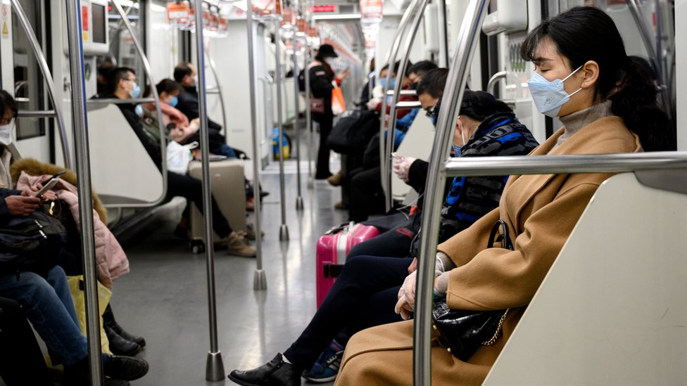 metro en Shanghái