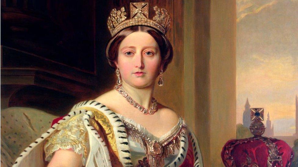 La reina Victoria en 1859. Victoria (1819-1901)