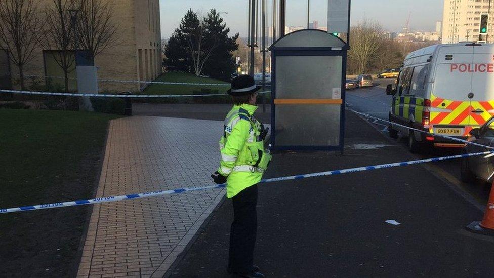 Birmingham college stabbing: Student dies in hospital