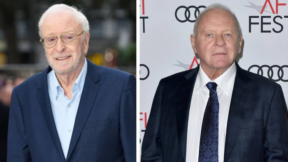 Sir Michael Caine and Sir Anthony Hopkins