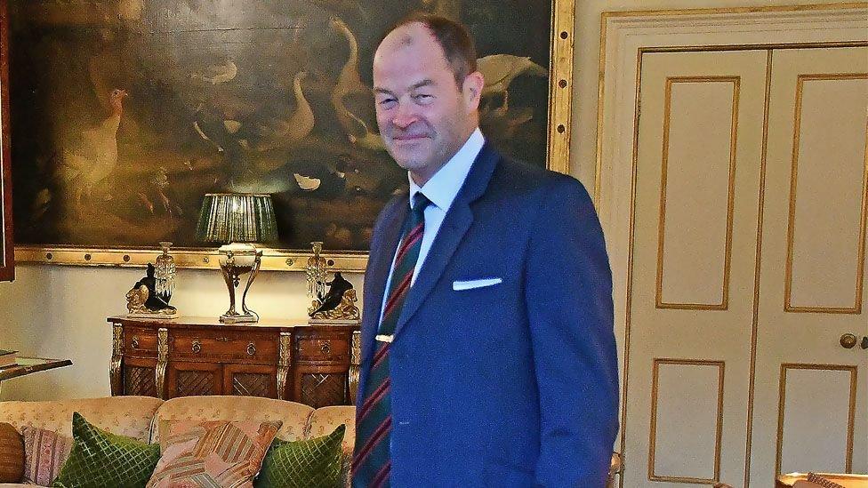 السير باتريك ساندرز رئيس القيادة الاستراتيجية بالجيش البريطاني التي تتولى تنسيق عمليات القوة المشتركة