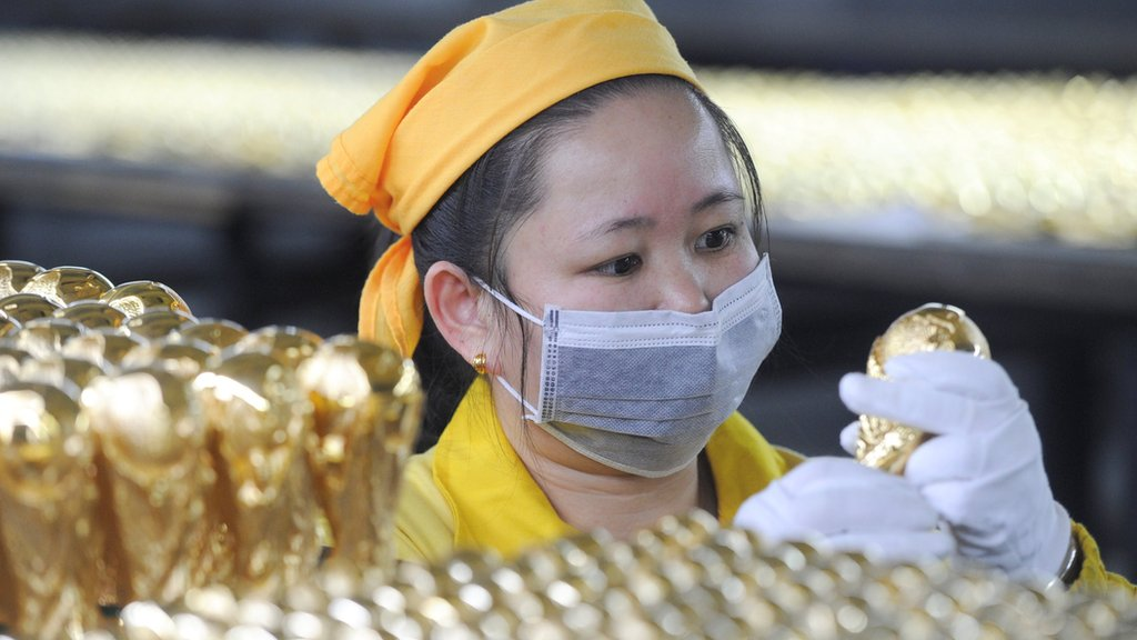 Trabajadora china