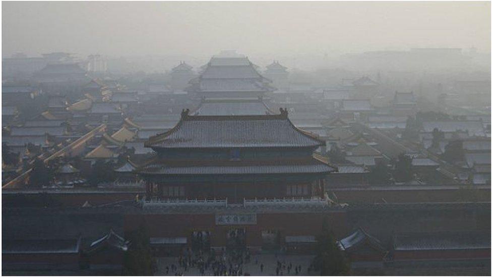 هواء ملوث في الصين