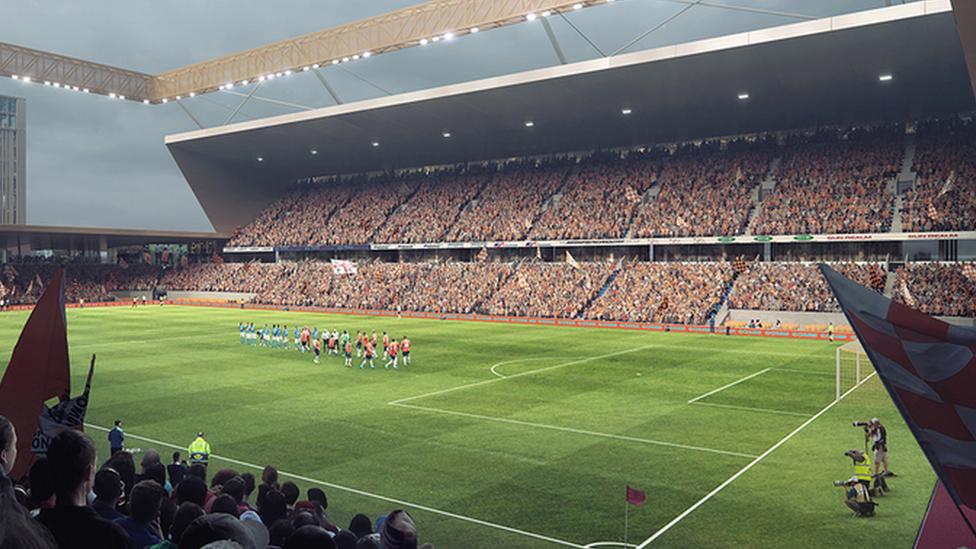 Power Court: Luton Town football stadium gains planning permission