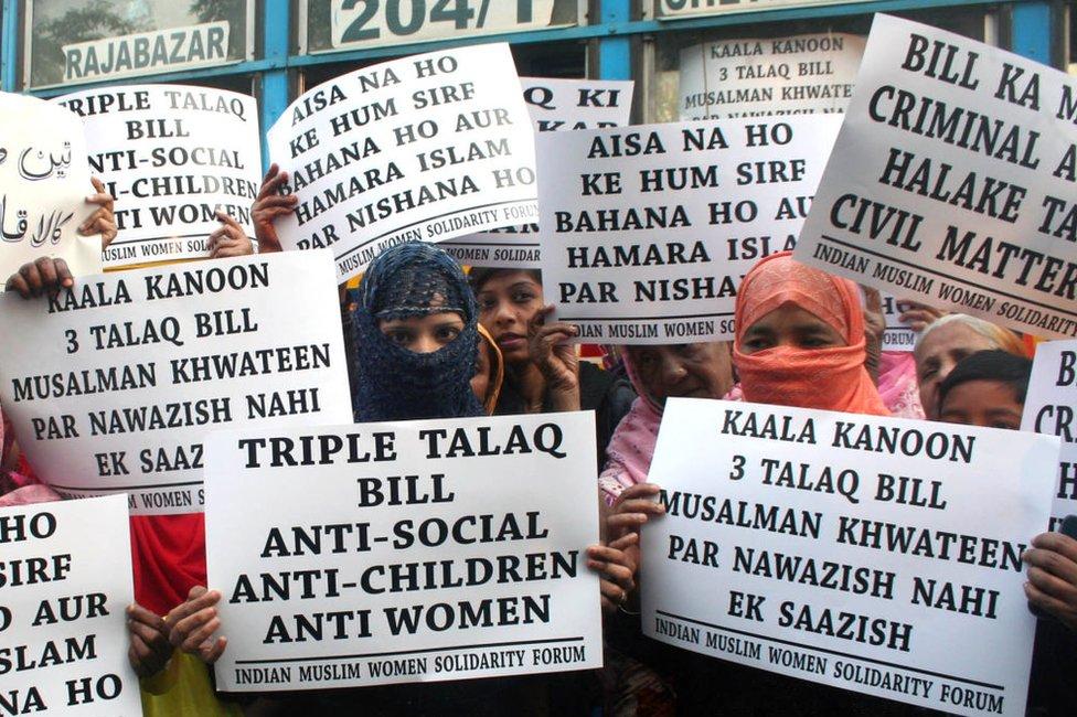 Parlemen India Sahkan Aturan Larang Praktik Perceraian 'Talak Tiga'