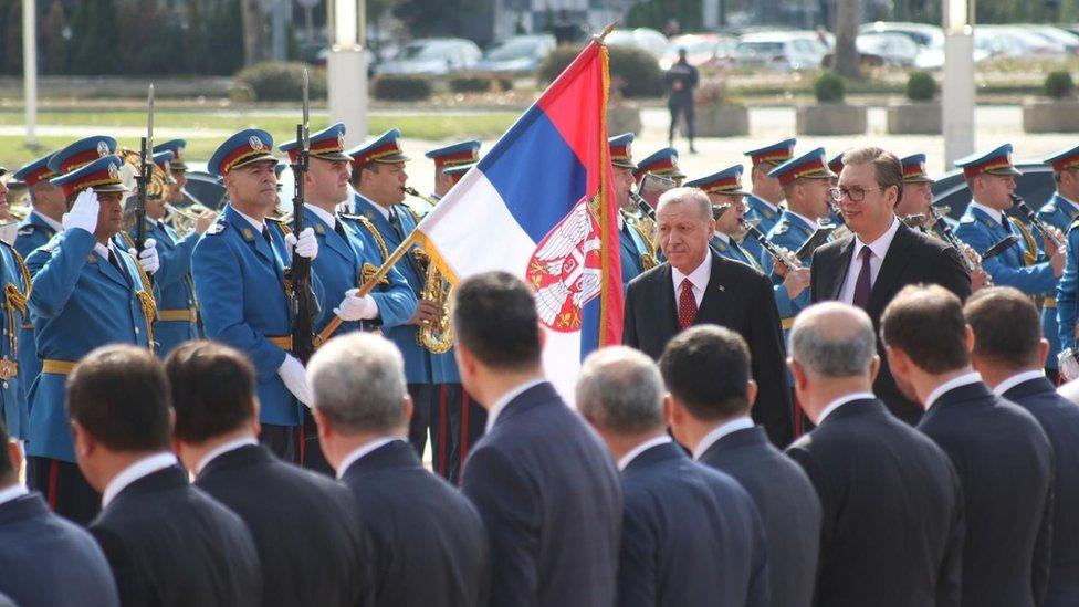 Vučić i Erdogan