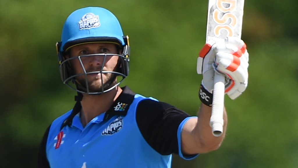 One-Day Cup: Worcestershire beat Derbyshire in opening game