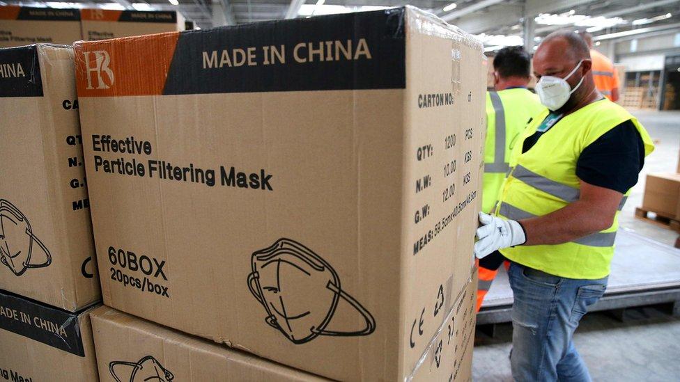 Maske kineske proizvodnje stižu u Francusku